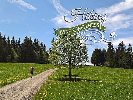 Hiking, wine & wellness in bavaria
